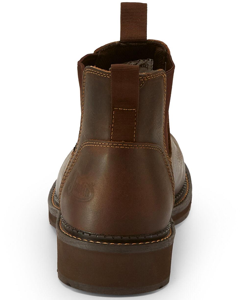 Justin Men's Childress Romeo Shoes - Composite Toe, Tan, hi-res