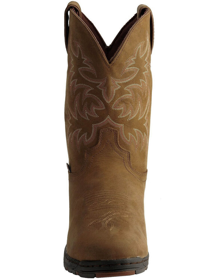 39594a98eea Justin Men's Waterproof Western Boots