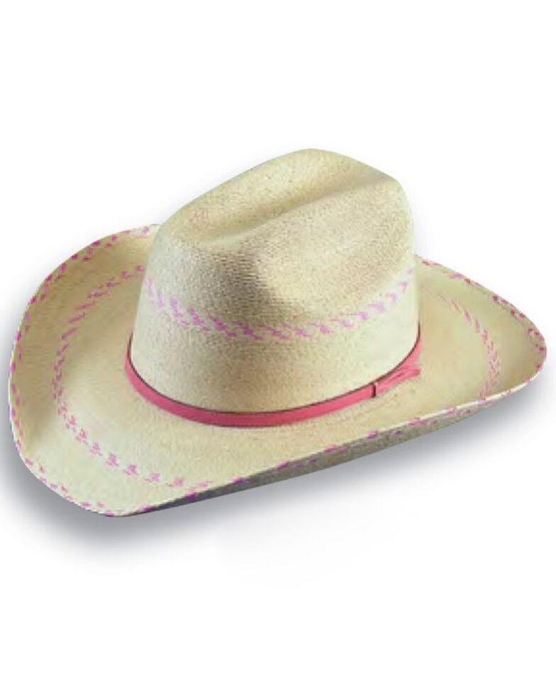 Atwood Hat Co. Kid's Straw Hat, Natural, hi-res