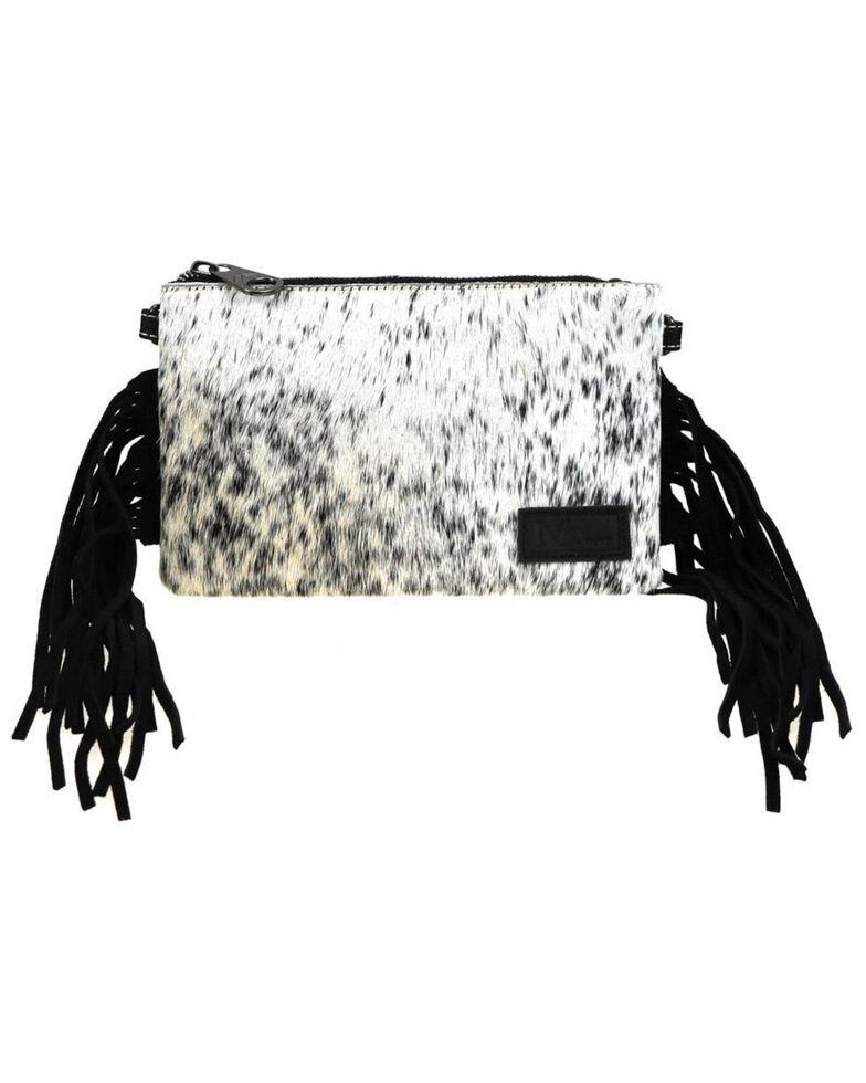 Montana West Women's Friday Hair-On Crossbody Bag, Black, hi-res