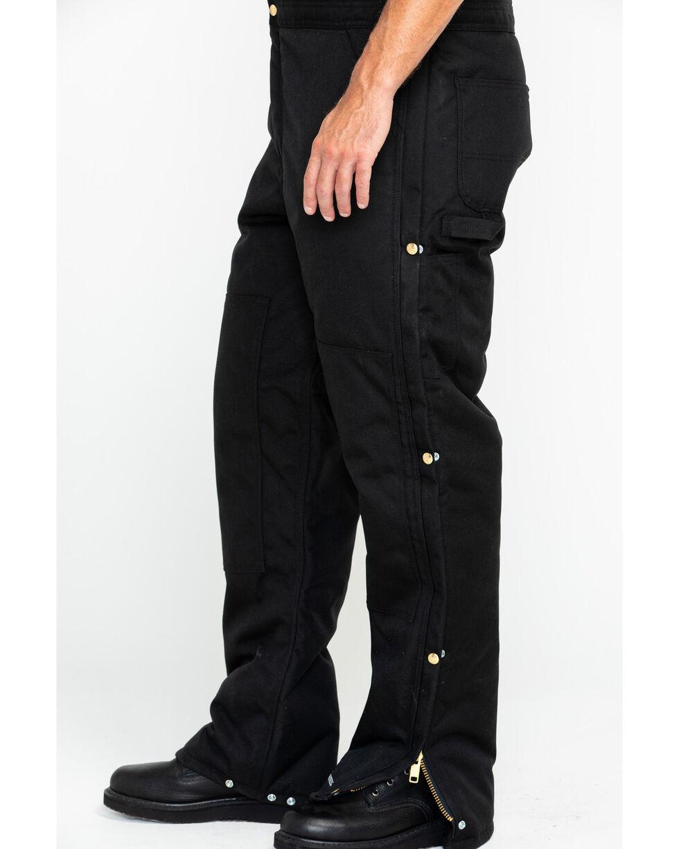 Carhartt Men's Extremes Arctic Quilt Lined Biberall, Black, hi-res