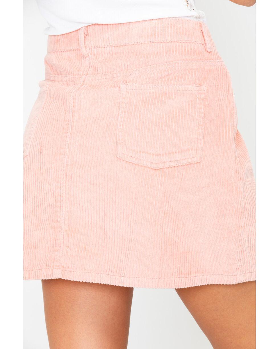 White Crow Women's Corduroy Mini Skirt , Blush, hi-res