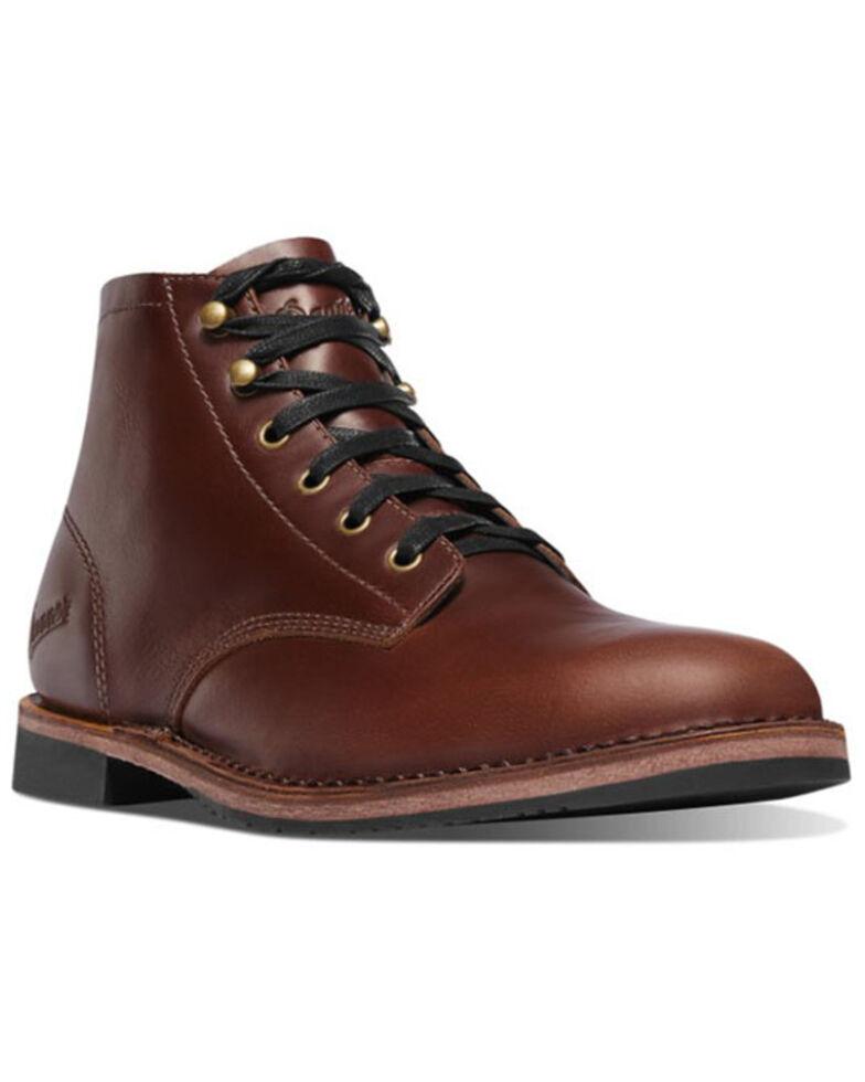 Danner Men's Jack II Lace-Up Boots - Round Toe, Dark Brown, hi-res