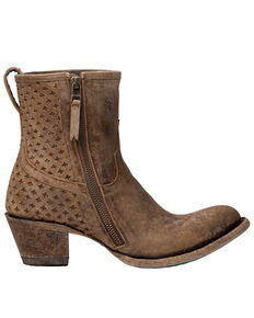 Lane Women's Windfall Fashion Booties - Round Toe, Tan, hi-res