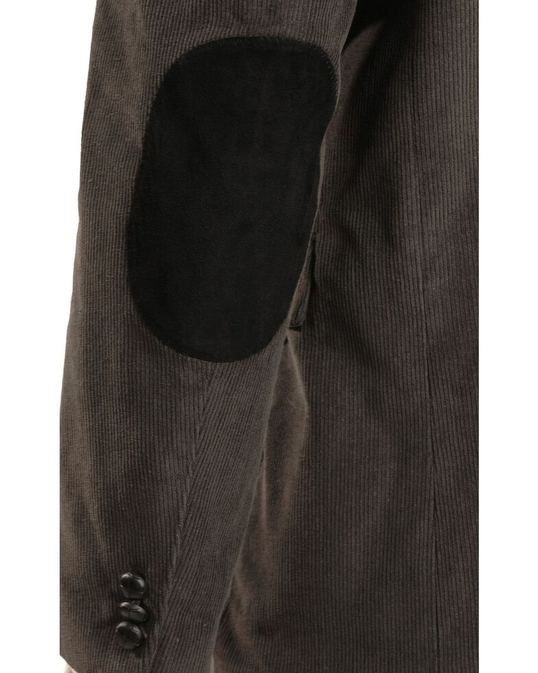 Circle S Men's Corduroy Sport Coat, Grey, hi-res