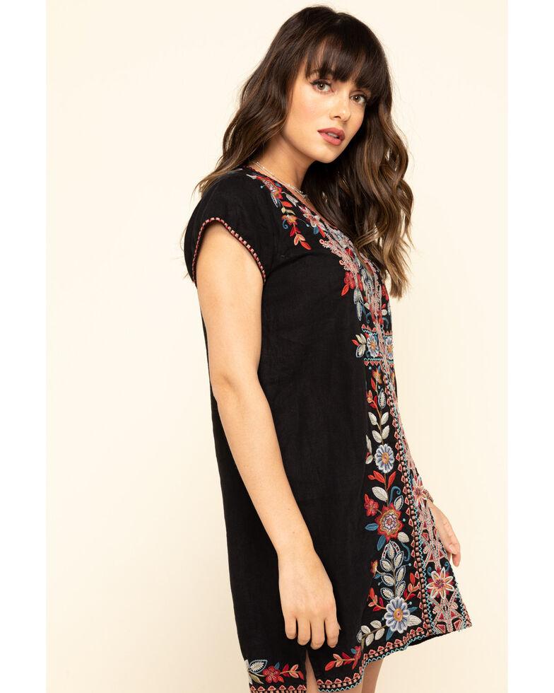 Johnny Was Women's Black Embroidered Maisie Dress, Black, hi-res