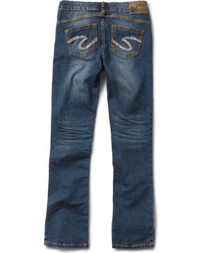 Silver Girls' Tammy Bootcut Jeans - 7-16, Denim, hi-res
