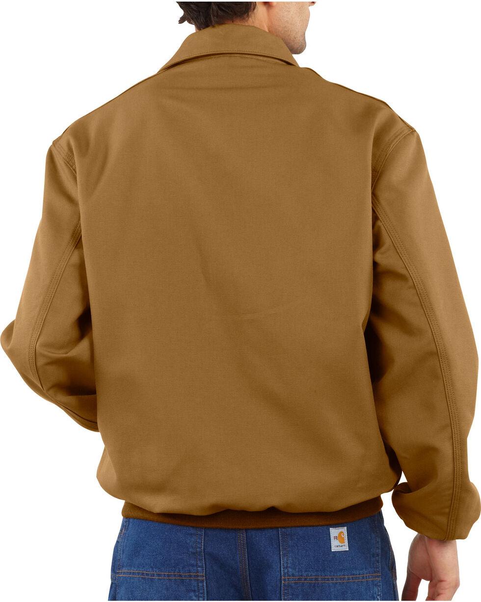 Carhartt Flame Resistant All-Season Bomber Jacket, Brown, hi-res