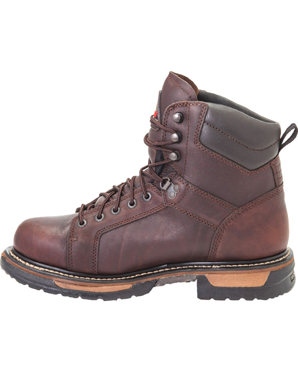 Rocky Men's IronClad Waterproof Work Boots, Copper, hi-res