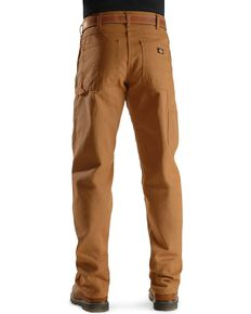 Dickies Duck Twill Work Pants - Big & Tall, Brown Duck, hi-res