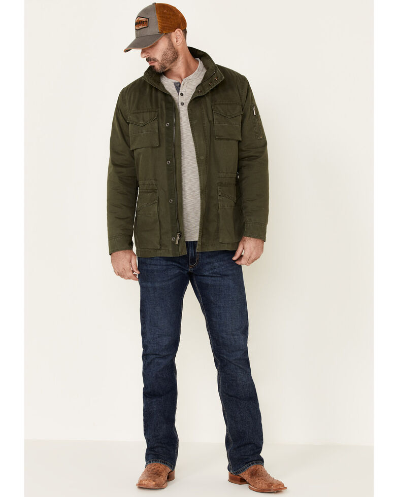 Flag & Anthem Men's Olive Springhill Sherpa-Lined Jacket , Olive, hi-res