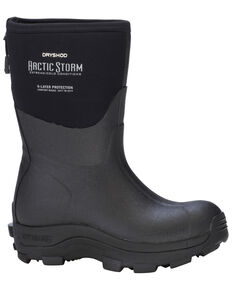 Dryshod Women's Arctic Storm Mid Work Boots , Black, hi-res