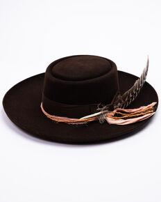 Stetson Men's Chocolate Kings Row Fur Felt Hat , Chocolate, hi-res
