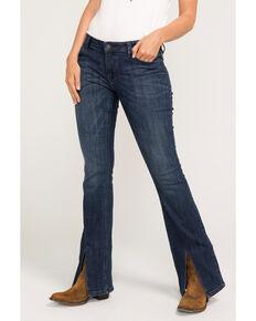 Idyllwind Women's Delta Dawn Slit Front Jeans, Blue, hi-res