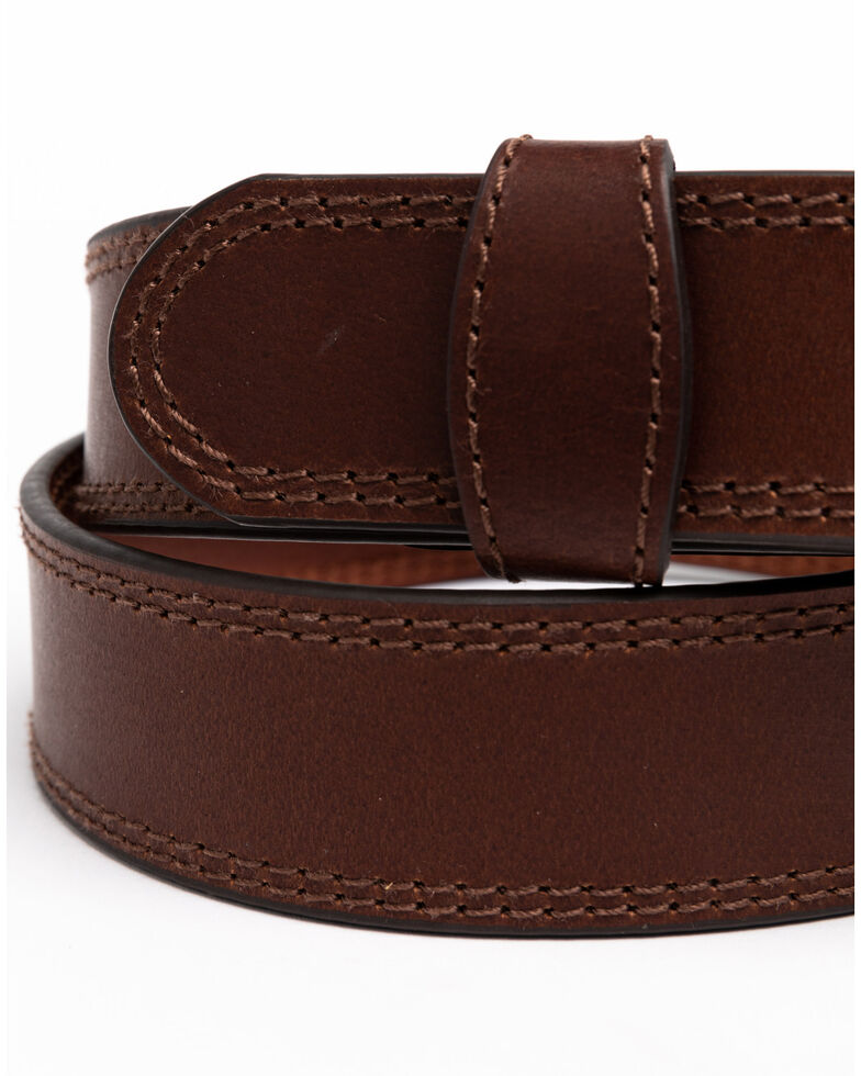Hawx® Men's Apache Triple Stitched Work Belt , Brown, hi-res