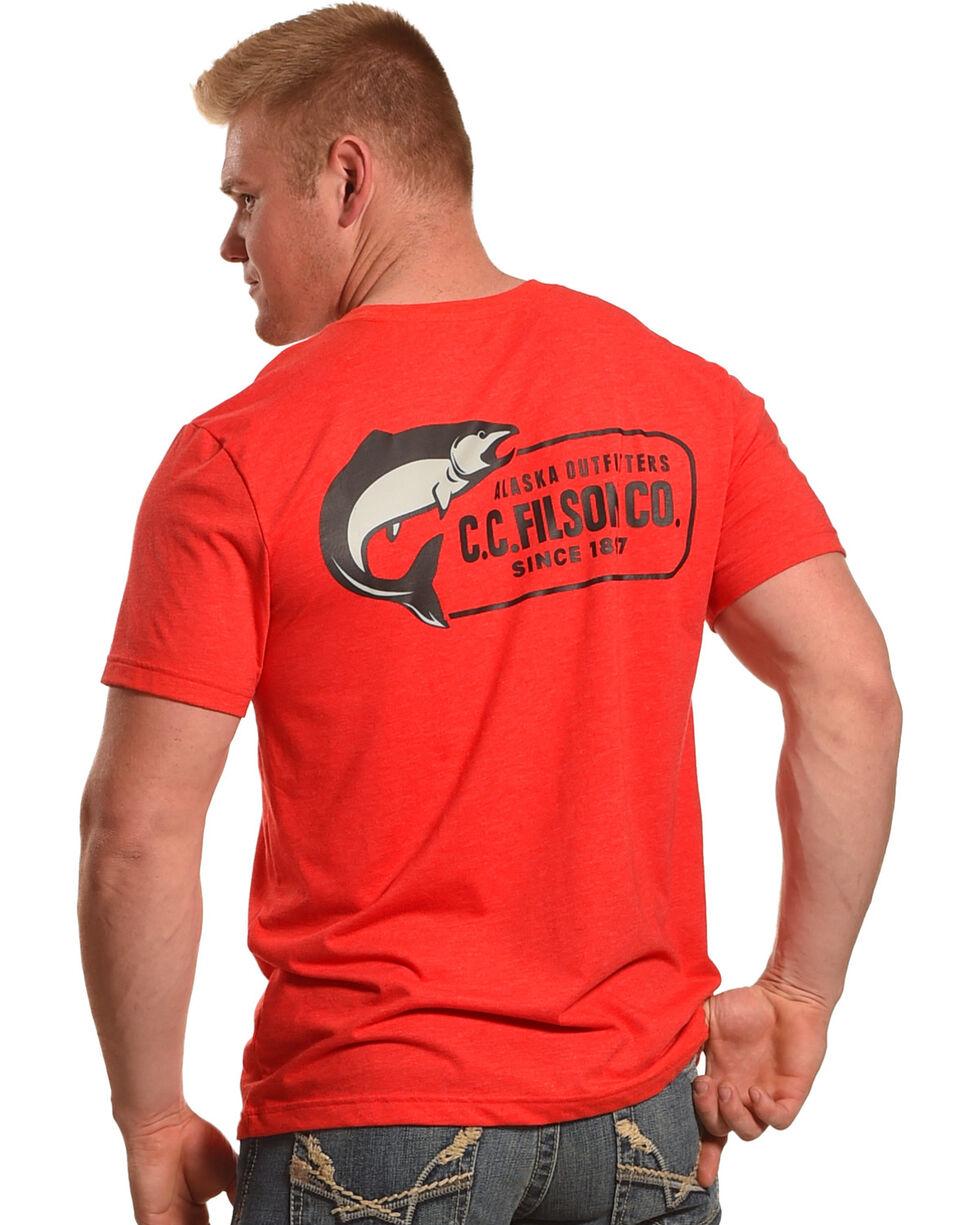 Filson Men's Buckshot T-Shirt , Red, hi-res