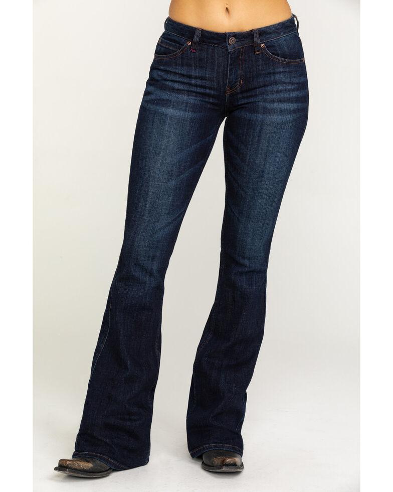 Idyllwind Women's The Rebel Bootcut Jeans - Dark Wash, Blue, hi-res