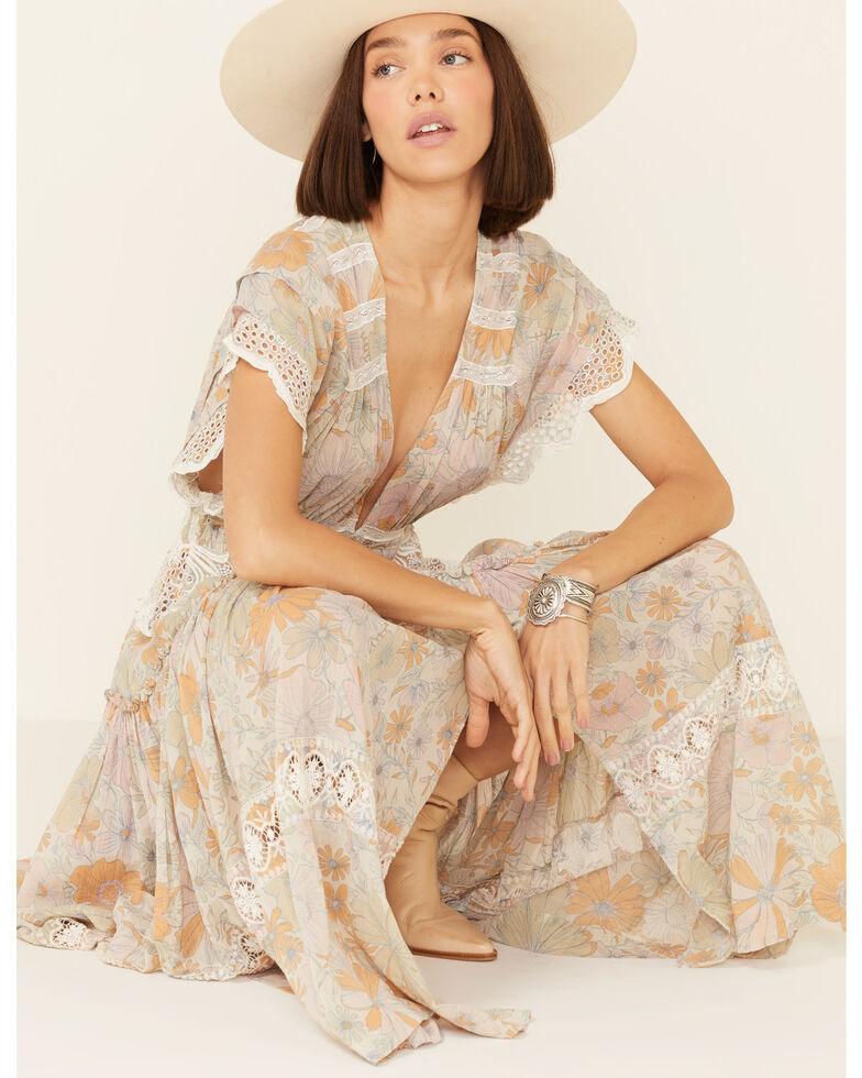 Free People Women's Field Of Dreams Maxi Dress, Ivory, hi-res