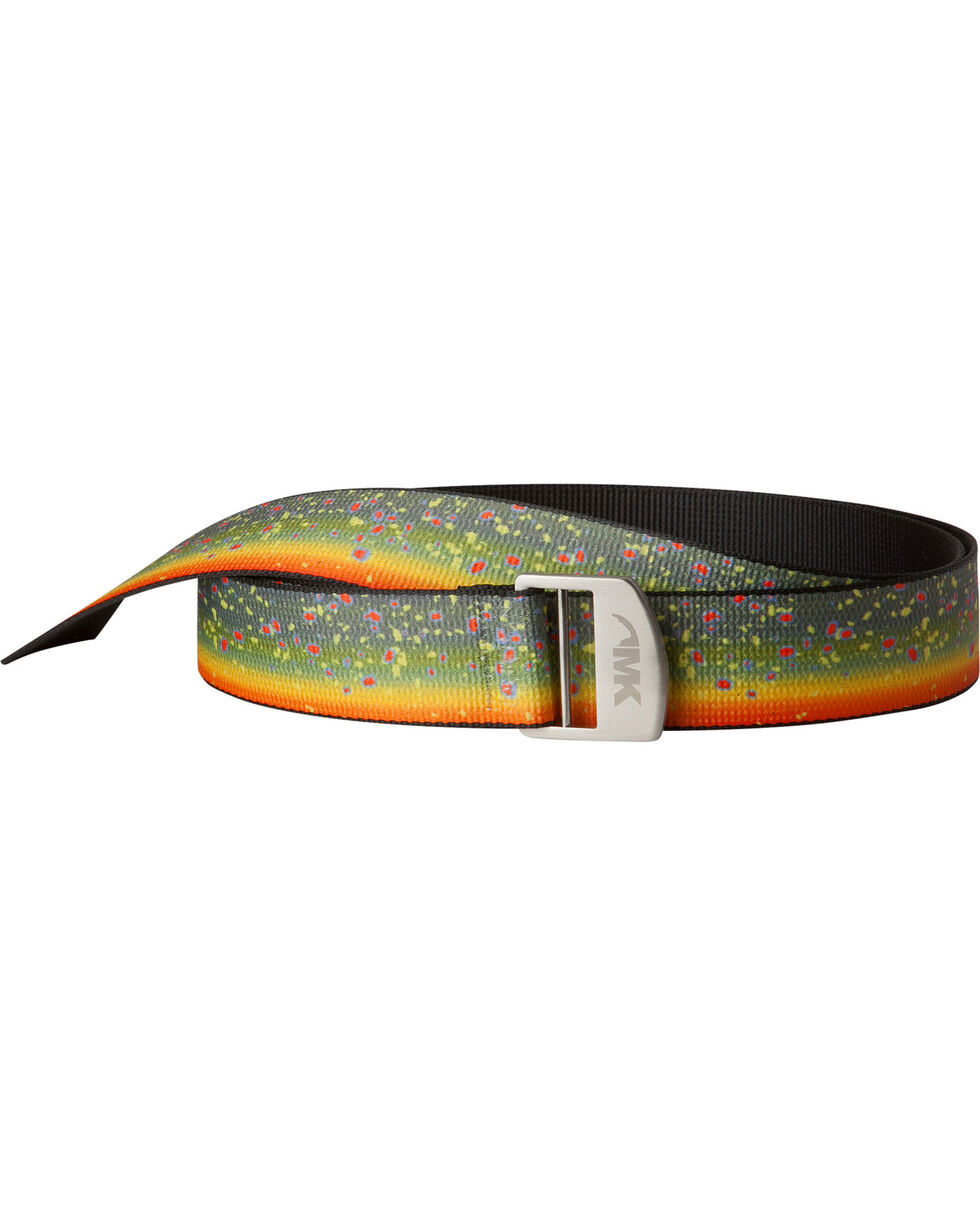 Mountain Khakis Men's Orange Webbed Belt, Orange, hi-res