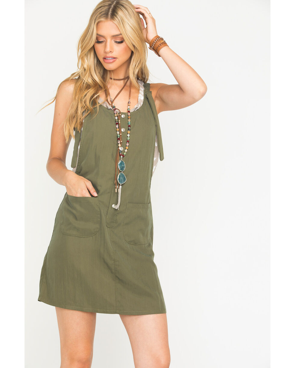 Sage the Label Women's Olive Lovestoned Dress , Olive, hi-res