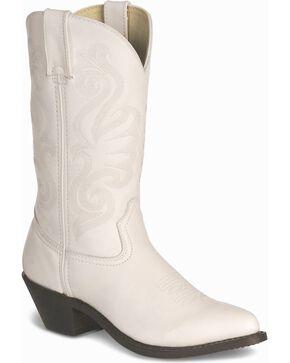 Durango Wild White Cowgirl Boots - Pointed Toe, White, hi-res