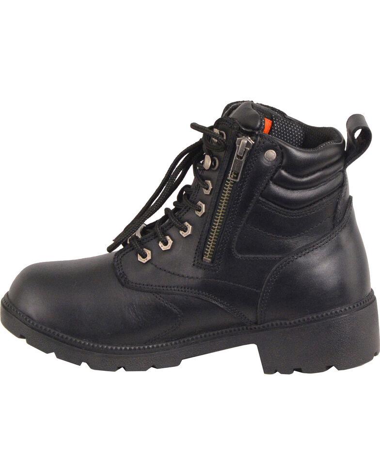 Milwaukee Leather Women S Waterproof Side Zipper Boots