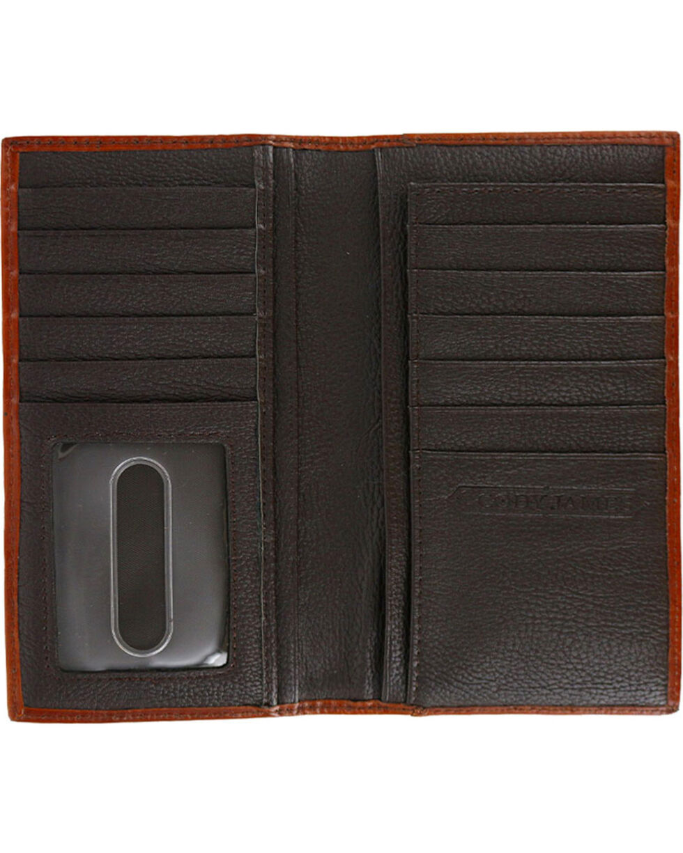 Cody James® Men's Hair-on-Hide Rodeo Wallet, Brown, hi-res