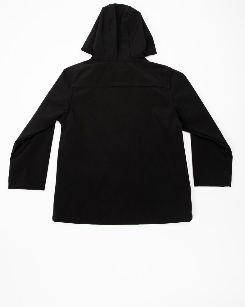 Cody James Toddler Boys' Poly Zip-Up Steamboat Soft Shell Jacket, Black, hi-res