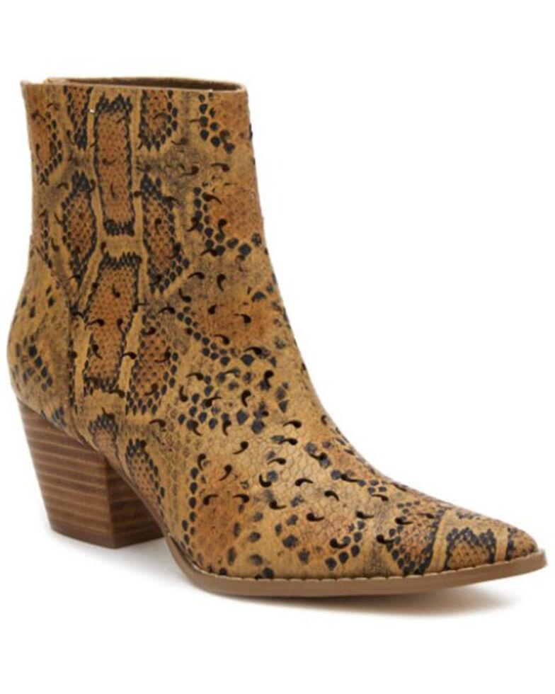 Matisse Women's Carter Fashion Booties - Snip Toe, Tan, hi-res
