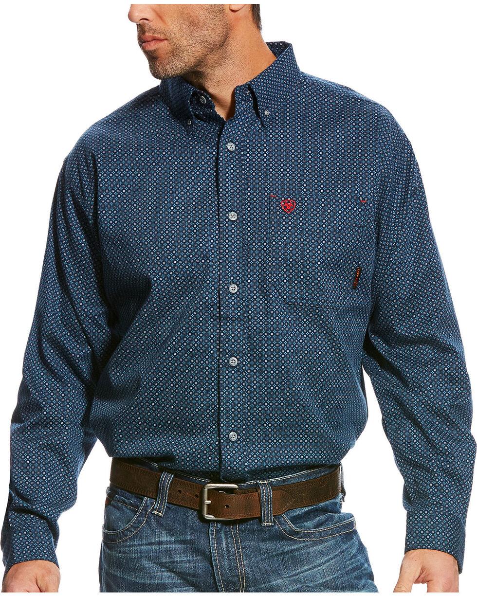 Ariat Men's FR Durango Long Sleeve Button Down Work Shirt, , hi-res