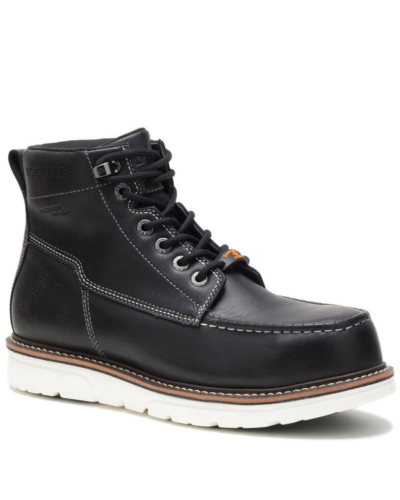 Wolverine Men's I-90 Durashocks Work Boots - Soft Toe, Black, hi-res