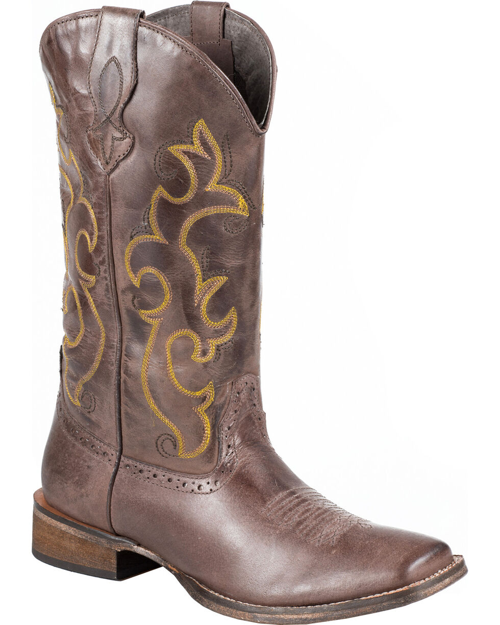 Roper Women's Lindsey Western Boots, Brown, hi-res