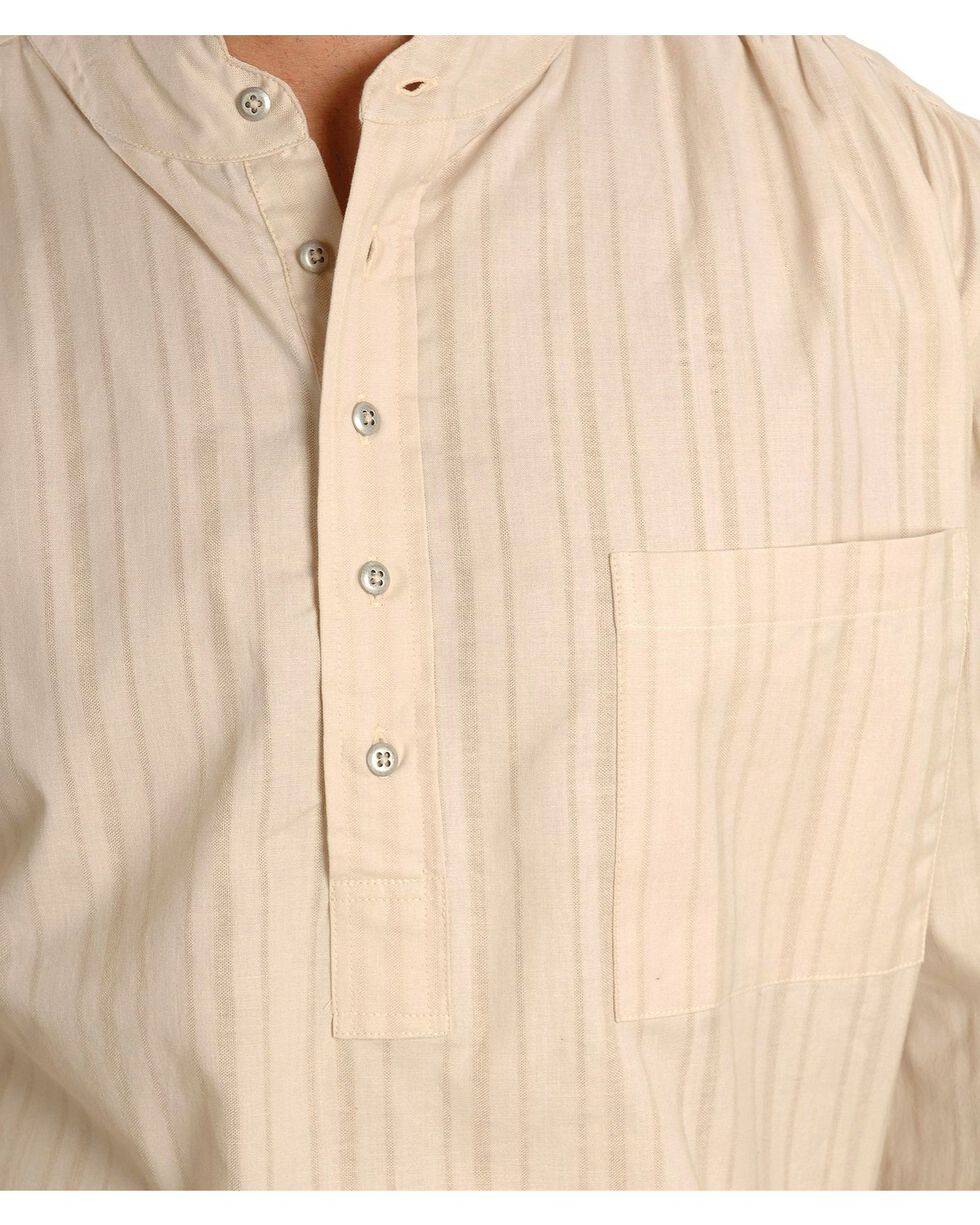 Scully Men's Lightweight Pullover Shirt, Natural, hi-res