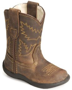 Old West Toddler Boys' Crazy Horse Boots, Crazyhorse, hi-res