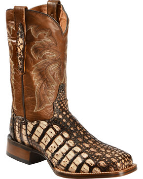 Dan Post Men's Cowboy Certified Everglades Caiman Boots, Camel, hi-res
