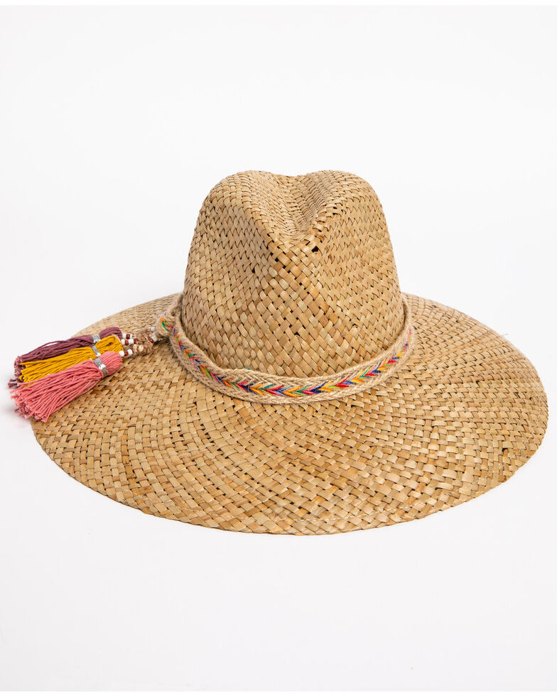 ále by Alessandra Women's Margarita Straw Hat , Natural, hi-res
