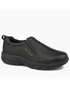 Roper Men's Air Light Black Shoes, Black, hi-res