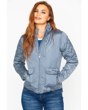 Ariat Women's Portico Puffer Jacket, Grey, hi-res