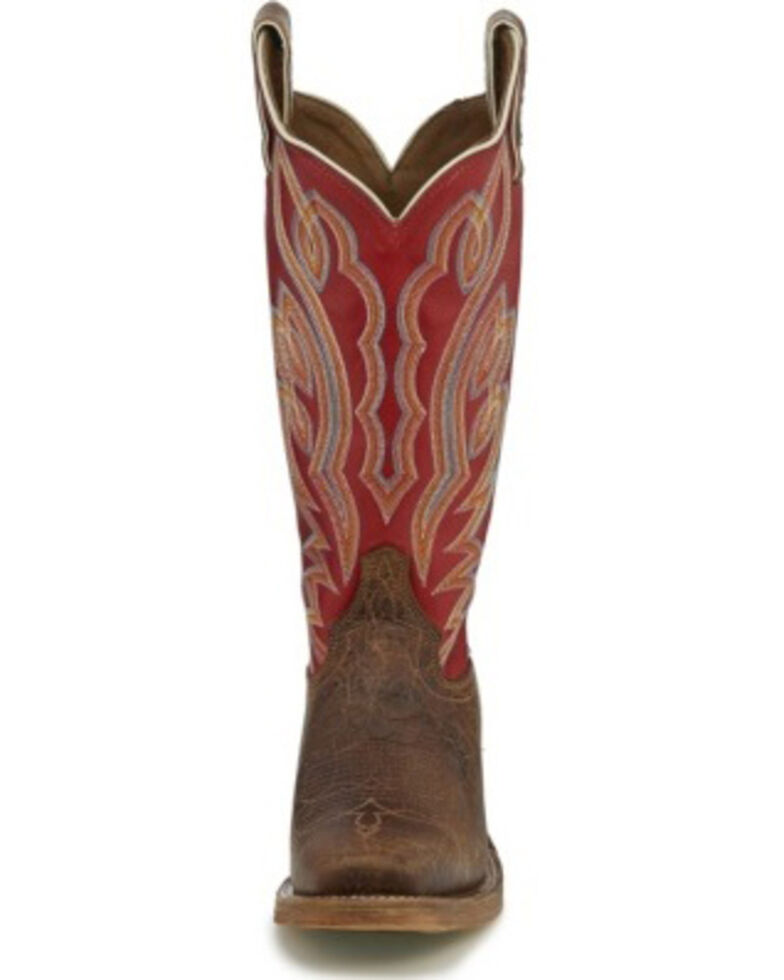 Justin Women's Katia Maple Western Boots - Square Toe, Brown, hi-res