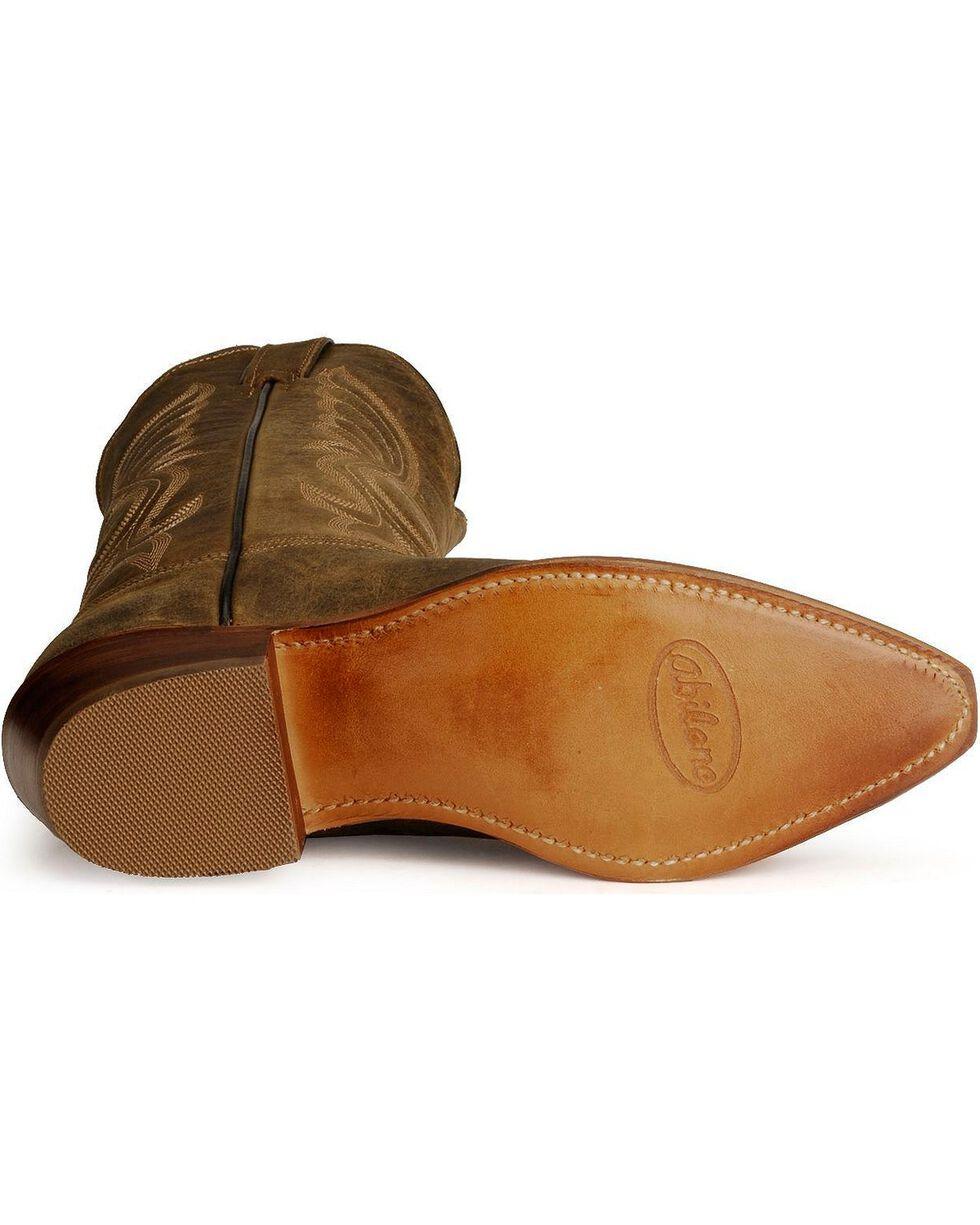 "Abilene Men's 12"" Longhorn Western Boots, Distressed, hi-res"