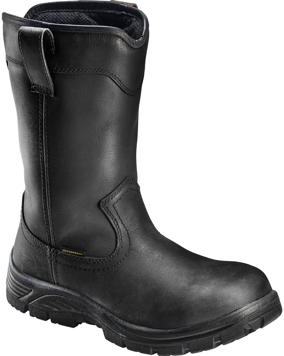 "Avenger Men's Waterproof 11"" Wellington Work Boots, Black, hi-res"