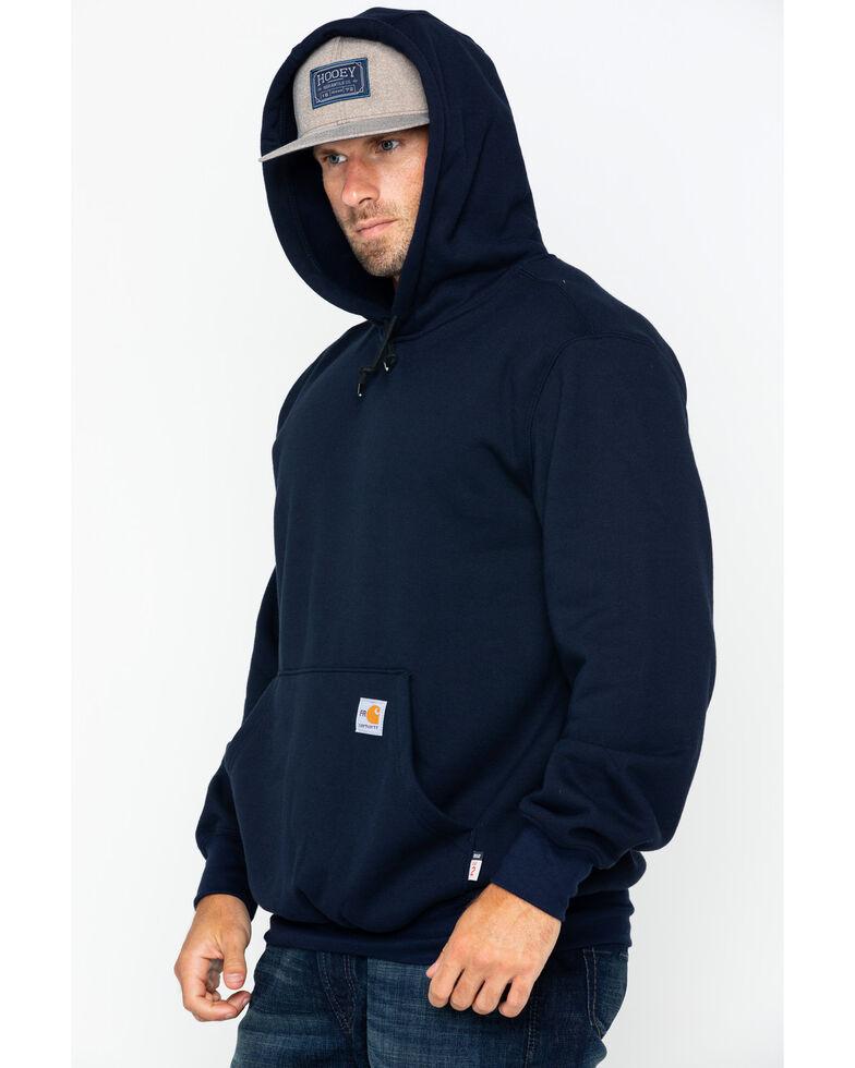 Carhartt Men's Hooded Pullover Solid Work Sweatshirt - Big & Tall , Navy, hi-res