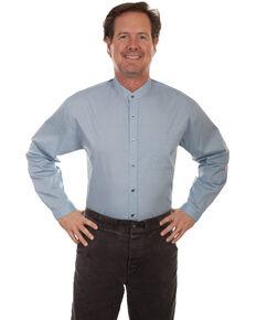 Rangewear by Scully Men's Light Blue Long Sleeve Western Shirt, Light Blue, hi-res