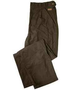 Outback Unisex Oilskin Over Pant, Brown, hi-res