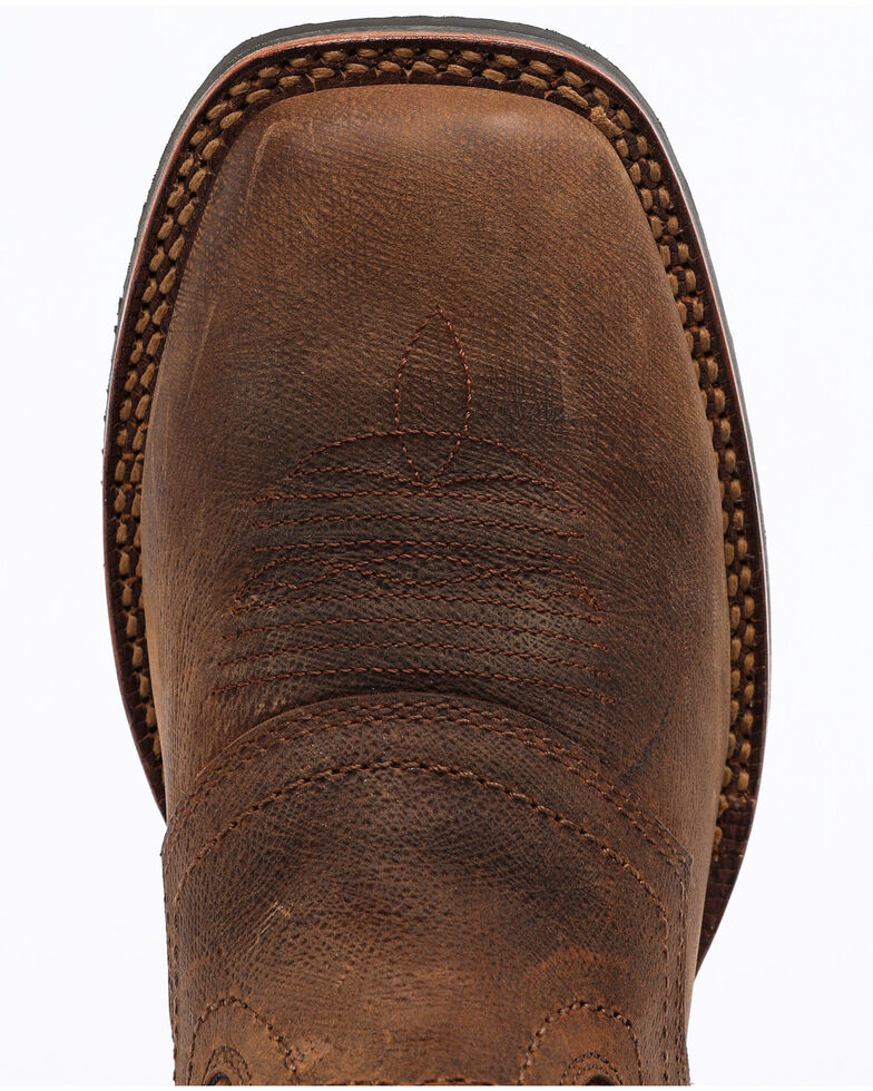 Cody James Men's Xero Gravity Cool Western Boots - Wide Square Toe, Brown, hi-res