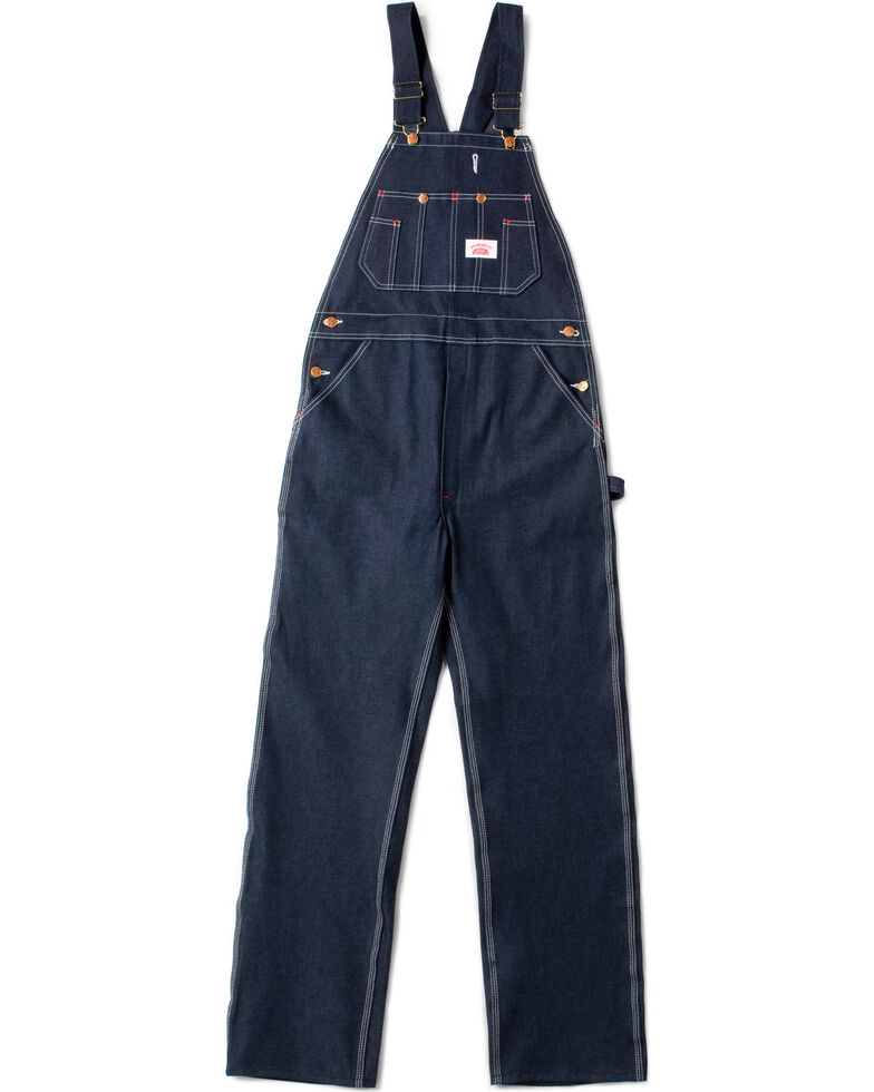 Round House Men's Blue Classic Overalls , Blue, hi-res