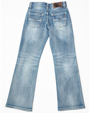 Rock & Roll Cowboy Boys' Reflex Light Vintage Jeans, Blue, hi-res