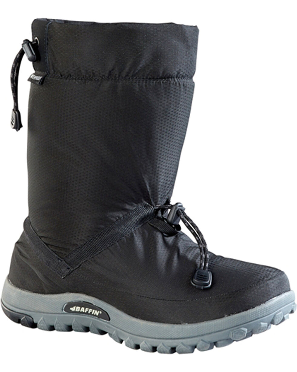 Baffin Men's Ease Waterproof Insulated Boots - Round Toe, Black, hi-res