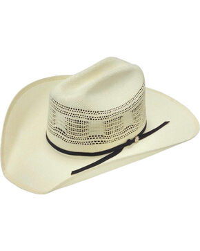 Bailey Desert Breeze Straw Cowboy Hat, Ivory, hi-res