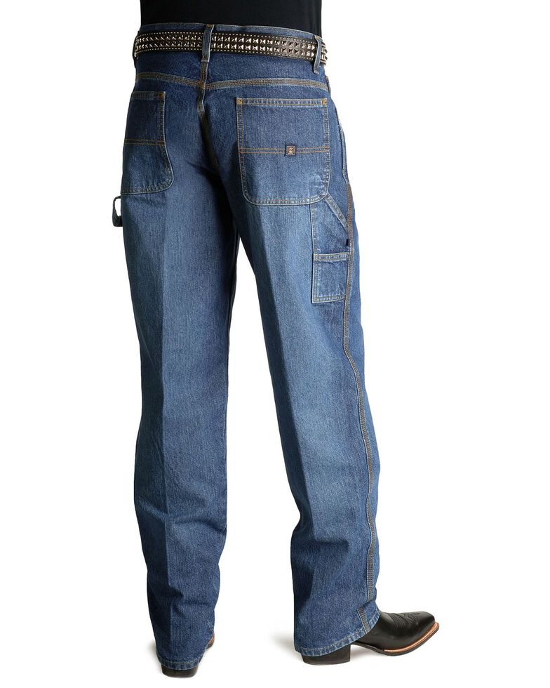 Cinch Men's Blue Label Tapered Loose Fit Jeans , Vintage, hi-res